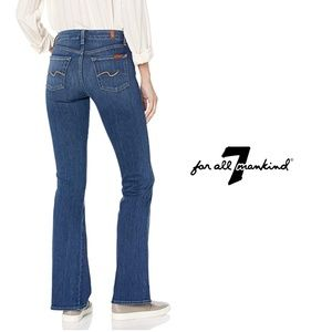 7FAMK | Low Rise Bootcut Jeans